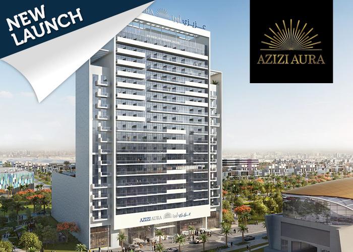 Azizi Aura Dubai external front
