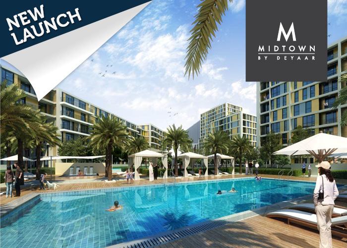 Midtown Dubai external
